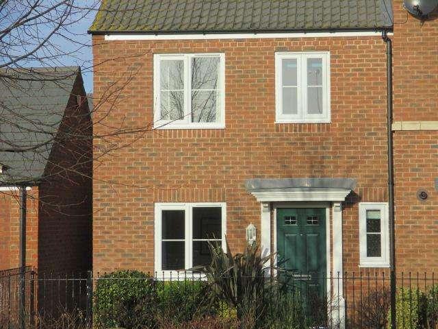 3 Bedrooms Semi Detached House for rent in Medora Close, Market Harborough
