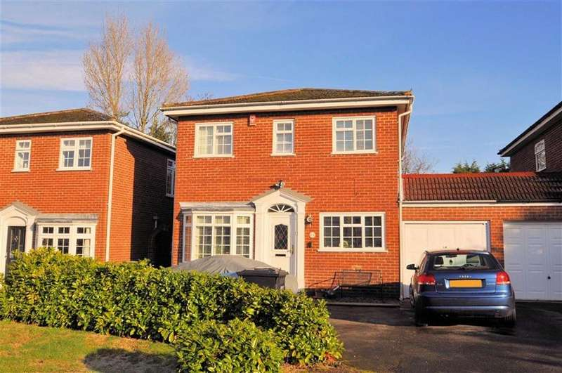 4 Bedrooms Link Detached House for sale in Manor Leaze, Egham, Surrey