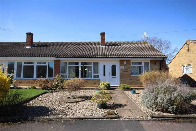 2 Bedrooms Semi Detached Bungalow for sale in Warren Close, Hatherley, Cheltenham, GL51