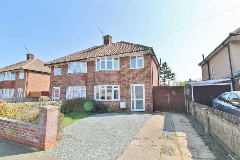 3 Bedrooms Semi Detached House for sale in Preston Drive, Ipswich