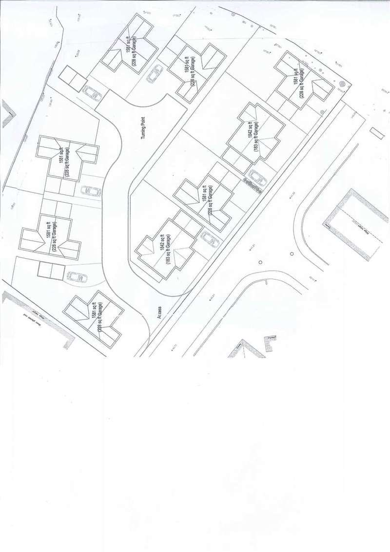 4 Bedrooms Detached House for sale in Proposed Development At Site Adjoining Maesyrhaf,, CROSS HANDS, Llanelli