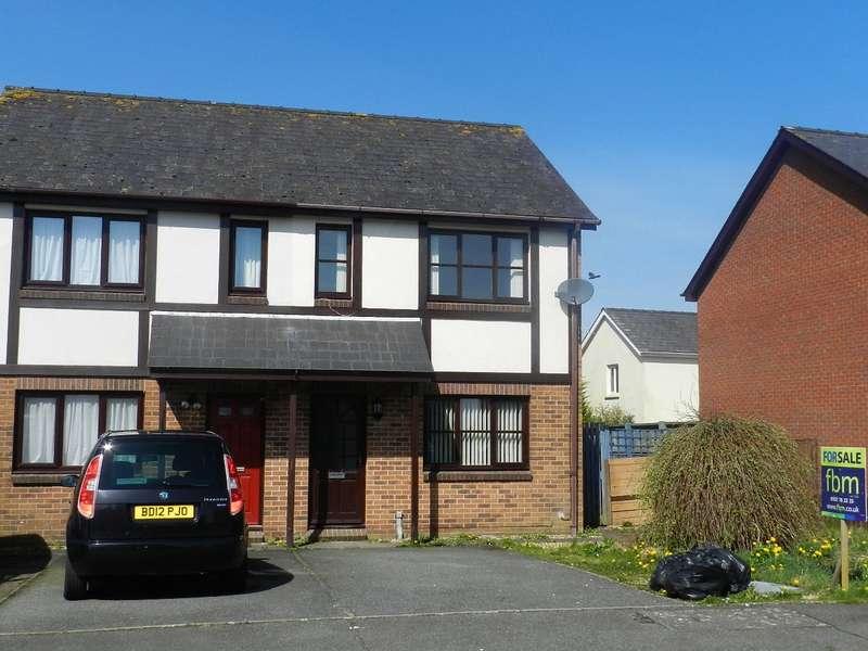 2 Bedrooms Semi Detached House for sale in Tudor Gardens, Merlins Bridge, Haverfordwest