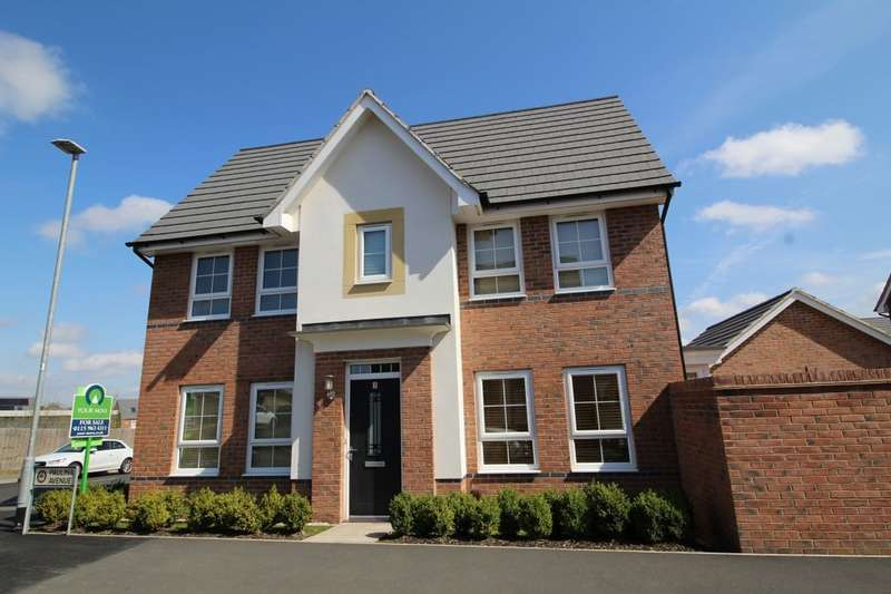 3 Bedrooms Detached House for sale in Paulina Avenue, Hucknall, Nottingham, NG15