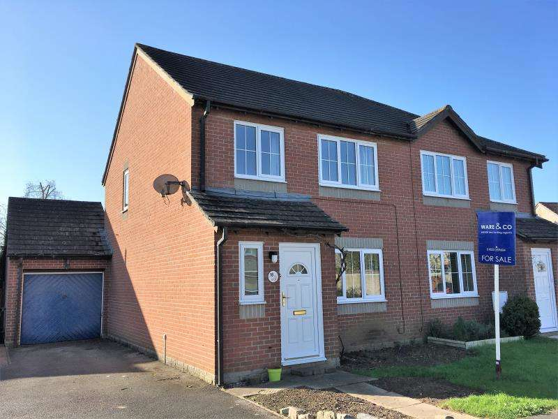 3 Bedrooms Semi Detached House for sale in Virginia Orchard, Ruishton, Taunton, Somerset, TA3 5LP