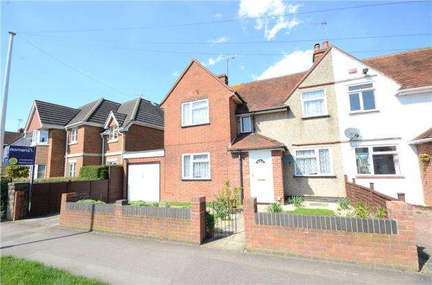 3 Bedrooms End Of Terrace House for sale in Whitley Wood Road, Reading, Berkshire
