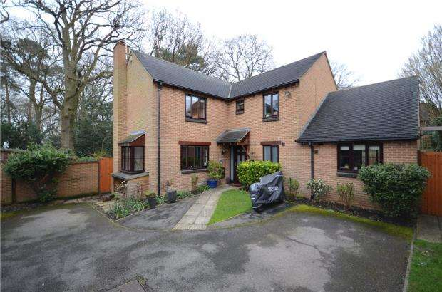 4 Bedrooms Detached House for sale in Top Common, Warfield