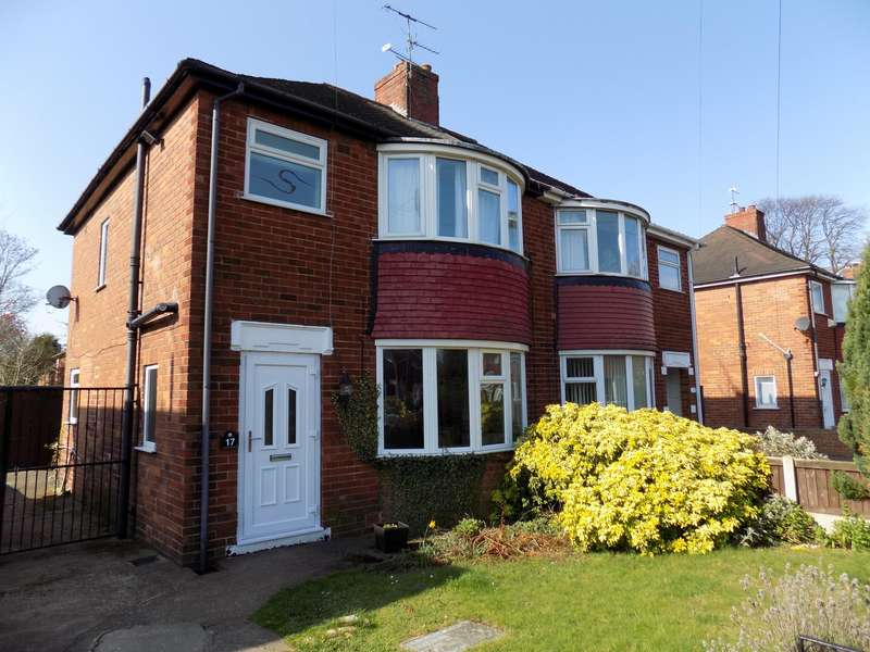 3 Bedrooms Semi Detached House for sale in Southwell Road, Doncaster, DN2