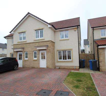 3 Bedrooms Semi Detached House for sale in West Cults Court, Whitburn