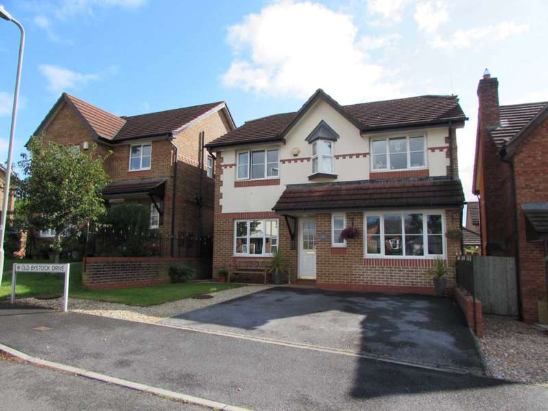 4 Bedrooms Detached House for sale in Old Bystock Drive, Exmouth