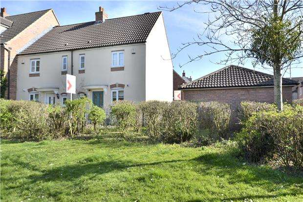 2 Bedrooms End Of Terrace House for sale in Darleydale Close, Hardwicke, GLOUCESTER, GL2 4JJ