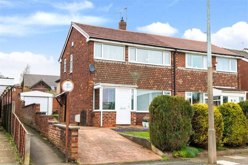 3 Bedrooms Semi Detached House for sale in Ashford Ave, Boothstown, Manchester, M28 1JJ