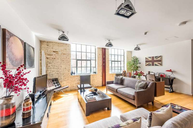 2 Bedrooms Flat for sale in Whitacre Mews, Kennington, SE11