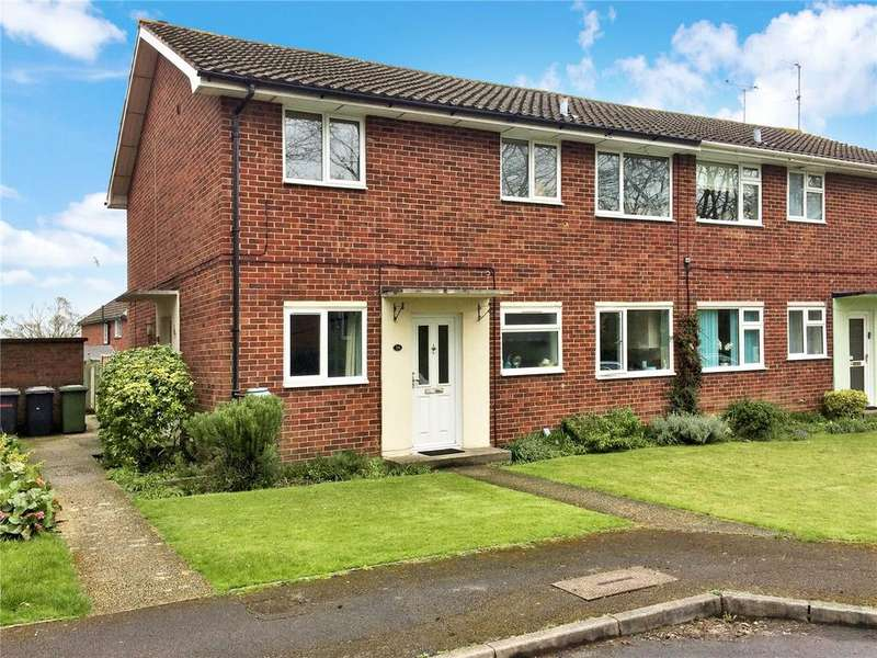 2 Bedrooms Maisonette Flat for sale in Norn Hill Close, Basingstoke, Hampshire, RG21