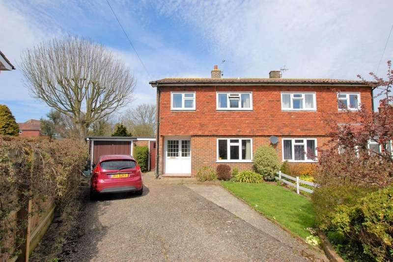 3 Bedrooms Semi Detached House for sale in Castle Avenue, Hythe, CT21