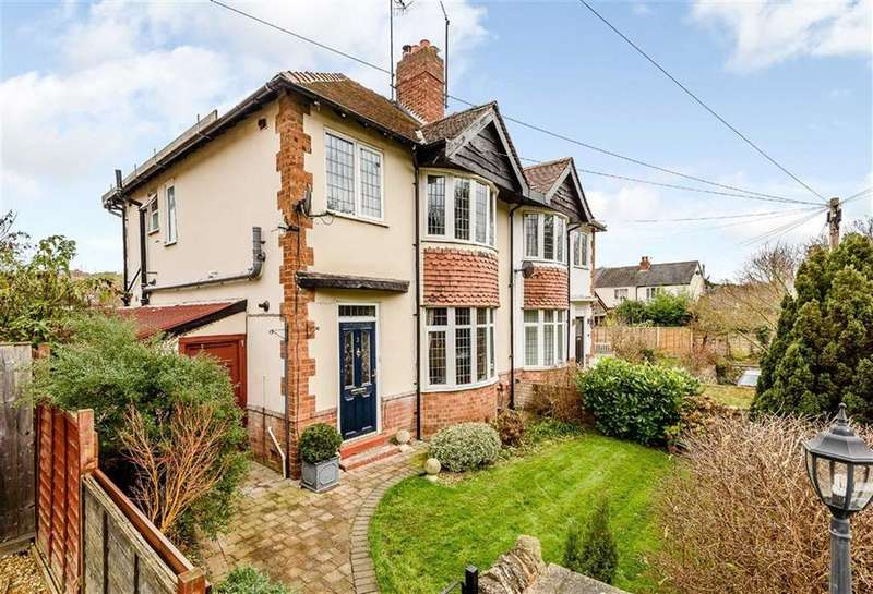3 Bedrooms Semi Detached House for sale in Temeside Estate, Ludlow