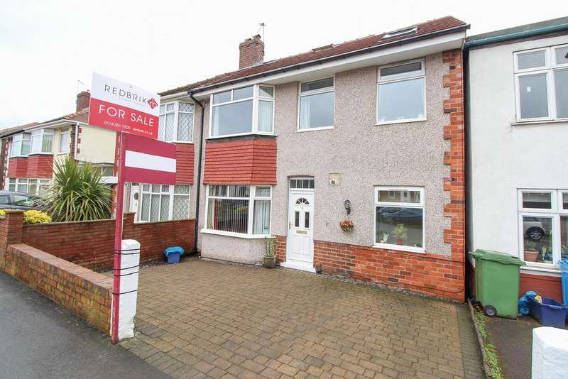 4 Bedrooms Semi Detached House for sale in Gleadless Avenue, Gleadless