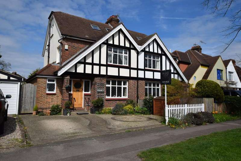 4 Bedrooms Semi Detached House for sale in Weston Green Road, Thames Ditton, KT7