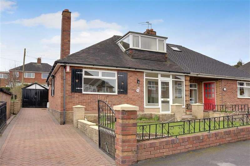 3 Bedrooms Semi Detached Bungalow for sale in Coupe Drive, Weston Coyney, Stoke-on-Trent