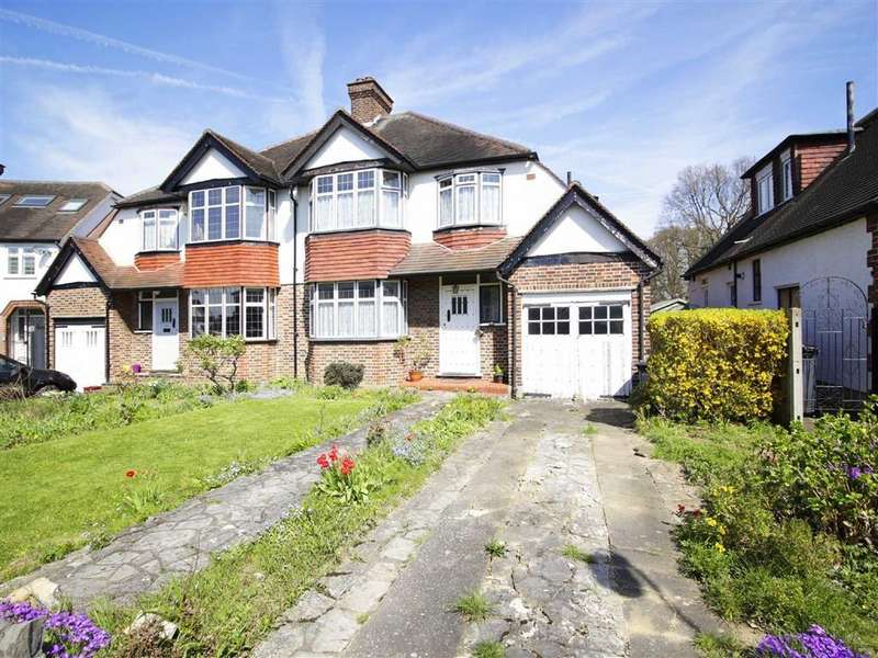 3 Bedrooms Semi Detached House for sale in Highland Croft, Beckenham, Kent