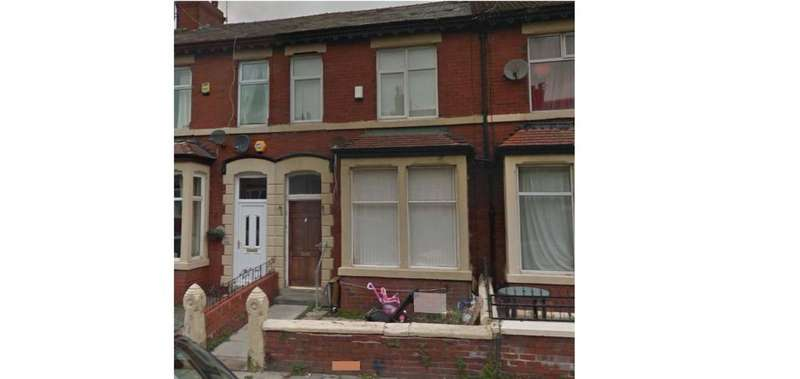 4 Bedrooms Terraced House for sale in Westmorland Avenue, Blackpool