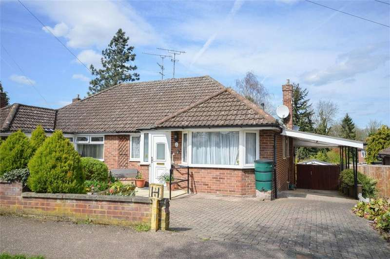 3 Bedrooms Semi Detached Bungalow for sale in Cannons Close, BISHOP'S STORTFORD, Hertfordshire