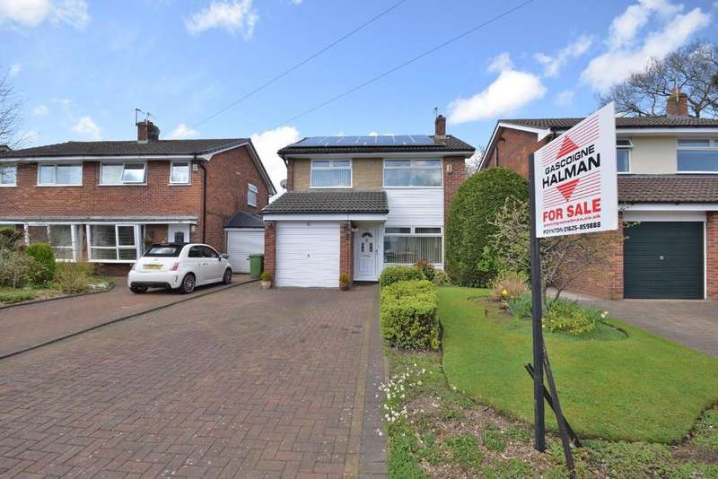 3 Bedrooms Detached House for sale in Mallard Crescent, Poynton