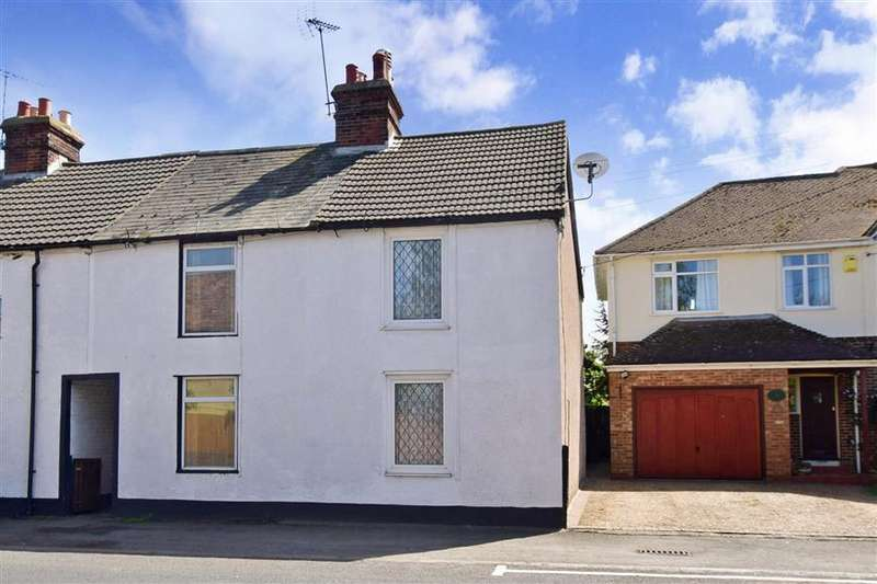 2 Bedrooms End Of Terrace House for sale in Island Road, Upstreet, Canterbury, Kent