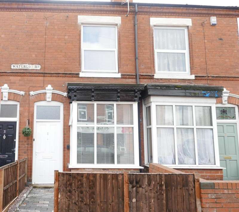 3 Bedrooms Terraced House for sale in Waterloo Road, Birmingham, B14