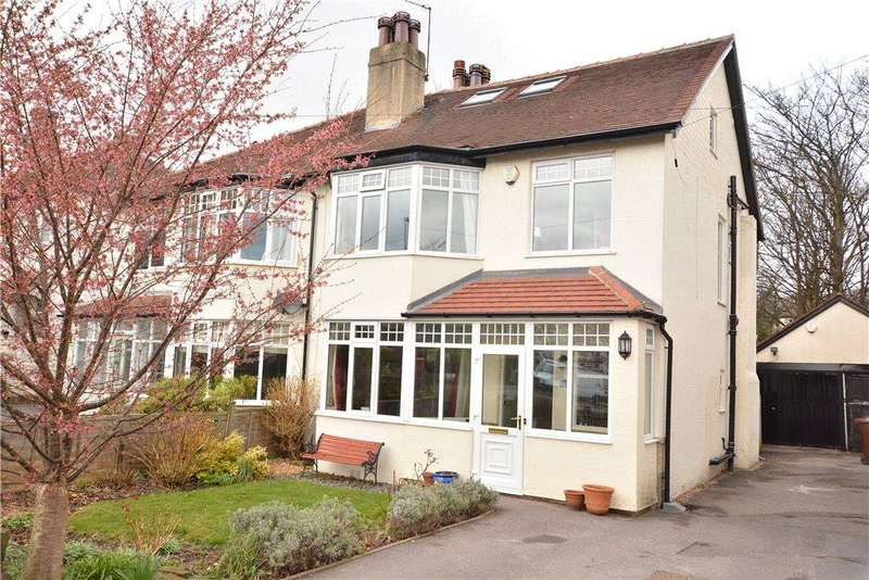 4 Bedrooms Semi Detached House for sale in Fitzroy Drive, Roundhay, Leeds