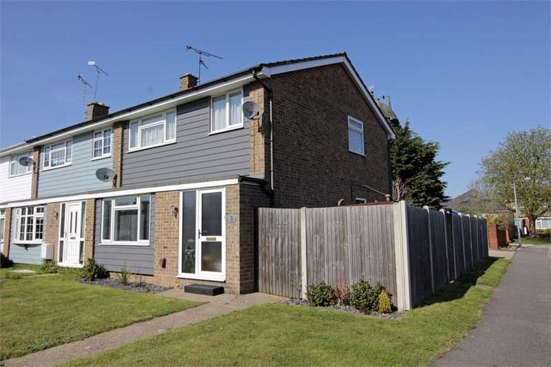 3 Bedrooms End Of Terrace House for sale in Millwrights, Tiptree, Essex