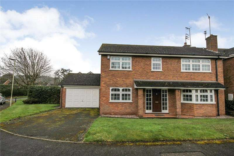 4 Bedrooms Detached House for sale in Manderville Gardens, Kingswinford, West Midlands, DY6