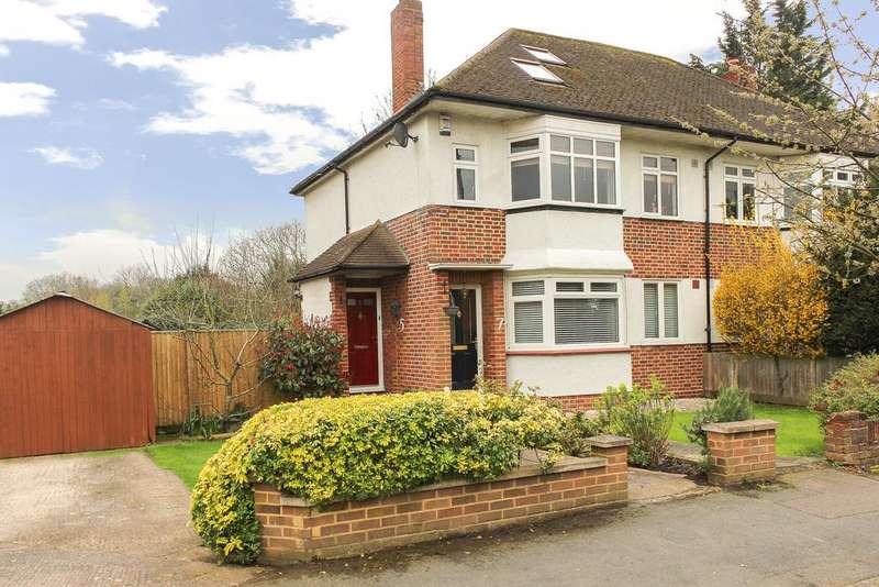 3 Bedrooms Maisonette Flat for sale in Warwick Road, Thames Ditton, KT7