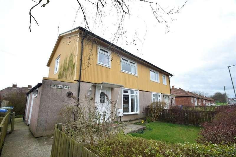 3 Bedrooms Semi Detached House for sale in Webb Avenue, Murton, Seaham, Co Durham, SR7