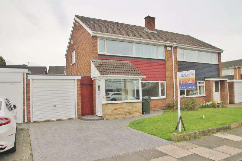 3 Bedrooms Semi Detached House for sale in Coxwold Close, Acklam Hall