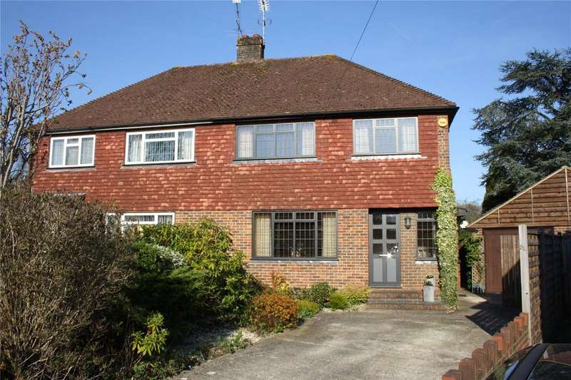 3 Bedrooms Semi Detached House for sale in Boxalls Grove, Aldershot, Hampshire, GU11