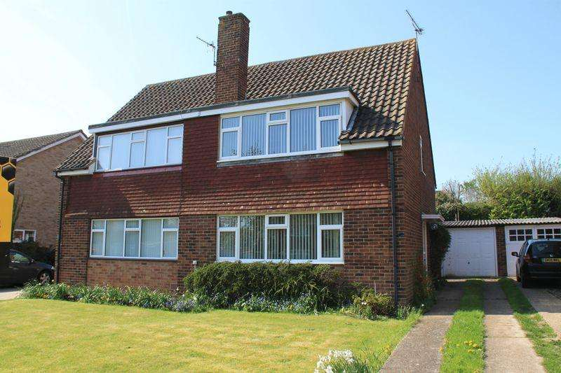 3 Bedrooms Semi Detached House for sale in Ramsey Close, Canterbury