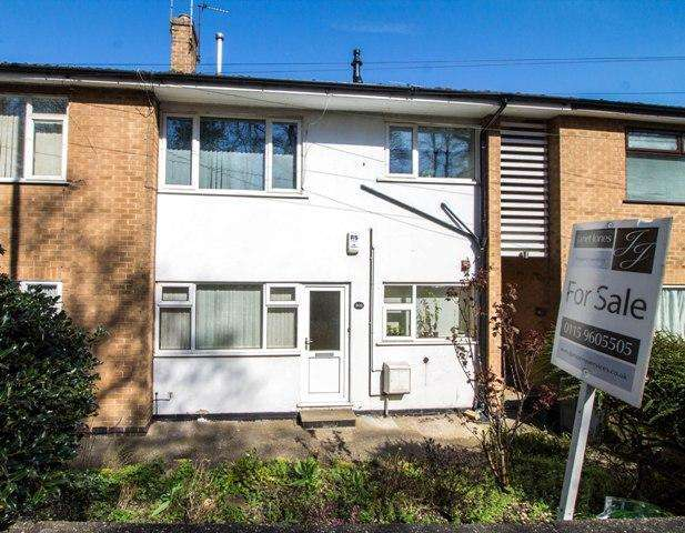 2 Bedrooms Maisonette Flat for sale in Porchester Road, Mapperley, Nottingham, NG3 6GS