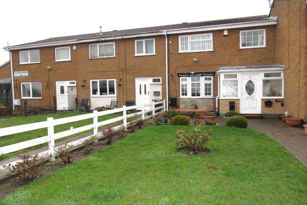 3 Bedrooms Terraced House for sale in Hendre Gardens, Top Valley, Nottingham, NG5
