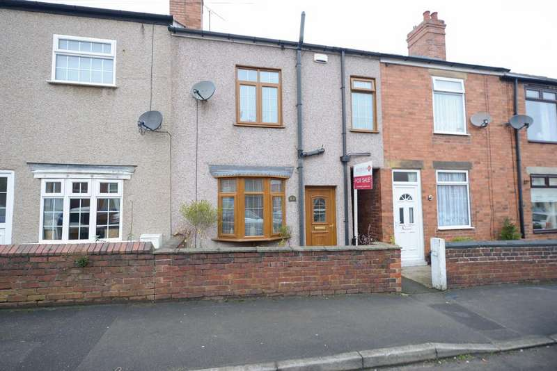 2 Bedrooms Terraced House for sale in Grove Street, Hasland, Chesterfield
