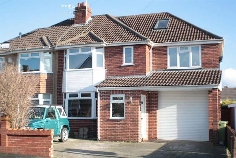 5 Bedrooms Semi Detached House for sale in Maytree Close, Headley Park, Bristol BS13 7PG