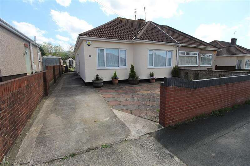 2 Bedrooms Semi Detached Bungalow for sale in Petherton Gardens, Hengrove, Bristol, BS14 8HL
