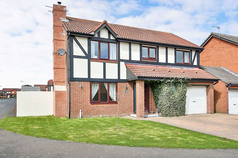 4 Bedrooms Detached House for sale in Daylesford Road, Cramlington, NE23