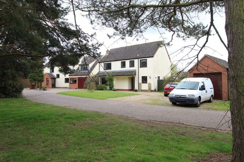 4 Bedrooms Detached House for sale in Fornham St Martin IP28