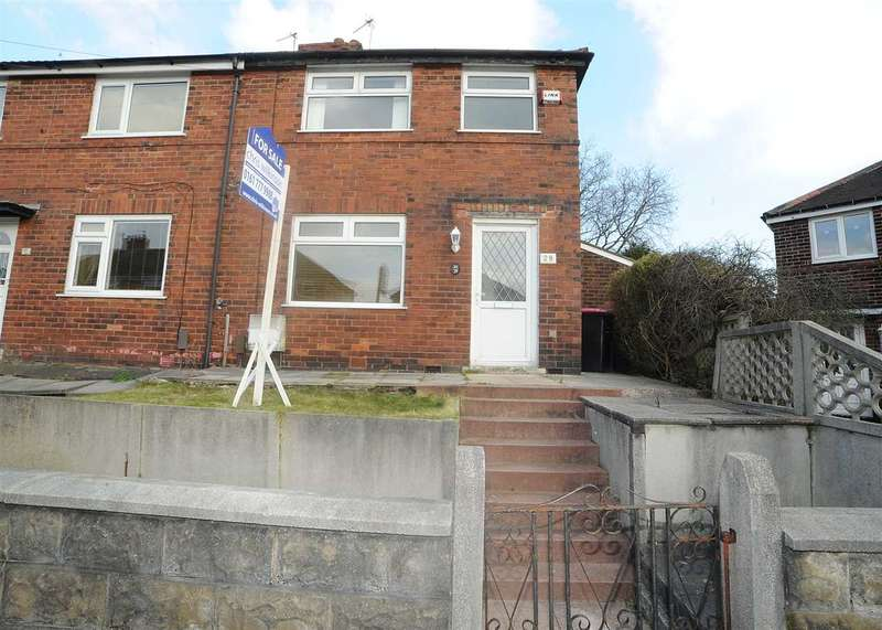 3 Bedrooms End Of Terrace House for sale in 29 Eldon Road, Irlam M44 6DE