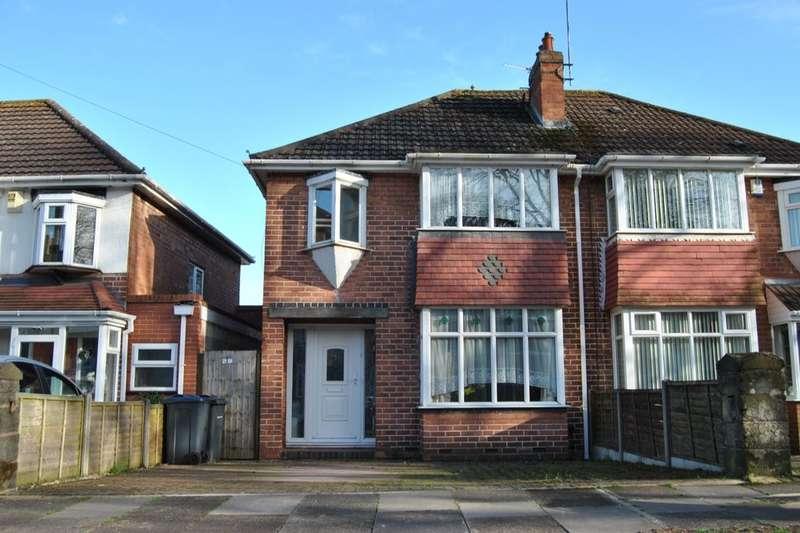 3 Bedrooms Semi Detached House for sale in Kemshead Avenue, Birmingham, B31