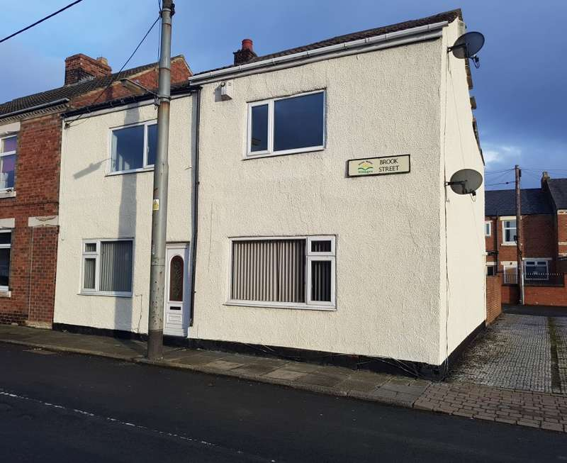 3 Bedrooms Semi Detached House for sale in Brook Street, Coundon Grange, Bishop Auckland, County Durham, DL14 8UJ