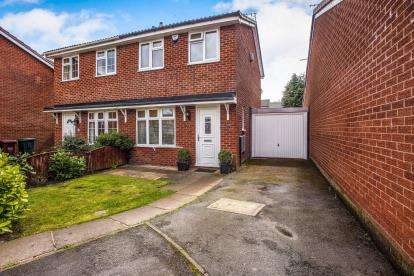 2 Bedrooms Semi Detached House for sale in Hurstbrook, Coppull, Chorley, Lancashire, PR7