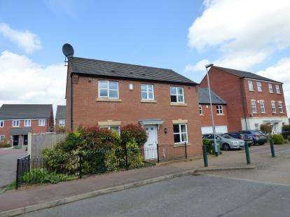 3 Bedrooms Detached House for sale in West Street, Warsop Vale, Mansfield, Nottinghamshire