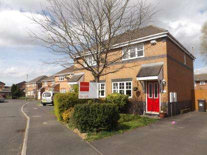 3 Bedrooms Semi Detached House for sale in Fieldfare Close, Lowton, Warrington