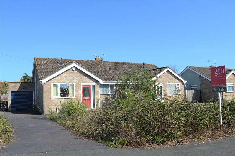 2 Bedrooms Semi Detached Bungalow for sale in Merryfield, Mark, Highbridge, Somerset, TA9